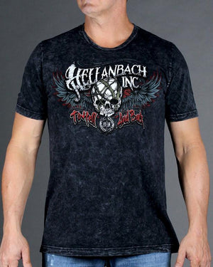 Hell and Back on Mineral Washed Premium Shirt