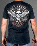 Mens Premium T-Shirt - Hell Bent Mineral Washed Premium Shirt