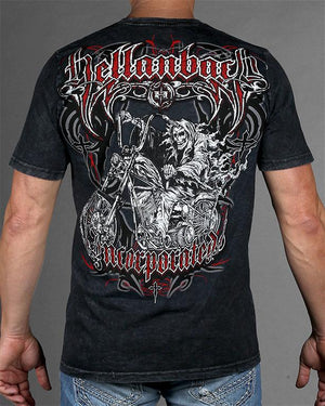 Mens Premium T-Shirt - Hellraiser Mineral Washed Premium Shirt