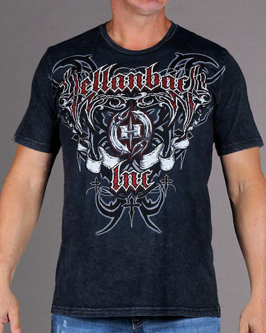 Image of Mens Premium T-Shirt - Hellraiser Mineral Washed Premium Shirt