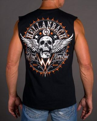 Mens Sleeveless Shirt - Hell Bent Sleeveless T