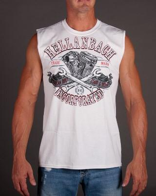 Image of Mens Sleeveless Shirt - Loud & Proud Sleeveless T