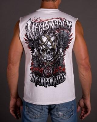 Image of Mens Sleeveless Shirt - To Hell & Back Sleeveless T