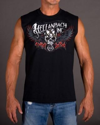 Mens Sleeveless Shirt - To Hell & Back Sleeveless T