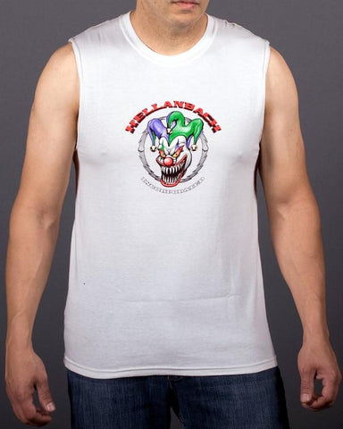 Image of Mens Sleeveless Shirt - Who's Your Daddy? Sleeveless