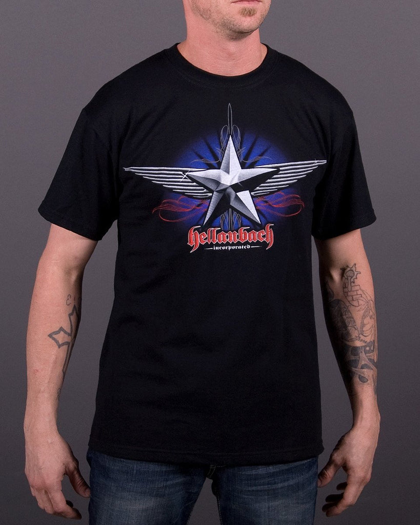 Mens T-Shirt - Chrome Star T-Shirt
