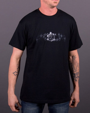 Image of Mens T-Shirt - Faded Skull T-Shirt