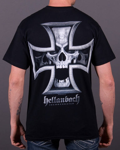 Image of Mens T-Shirt - Iron Skull T-Shirt