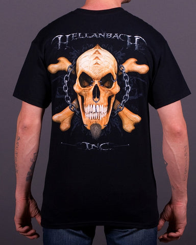 Image of Mens T-Shirt - Pierced Skull T-Shirt