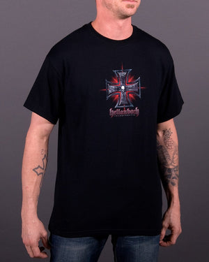 Red Tribal Glow T-Shirt