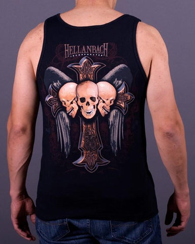 Mens Tank - Celtic Cross Tank Top