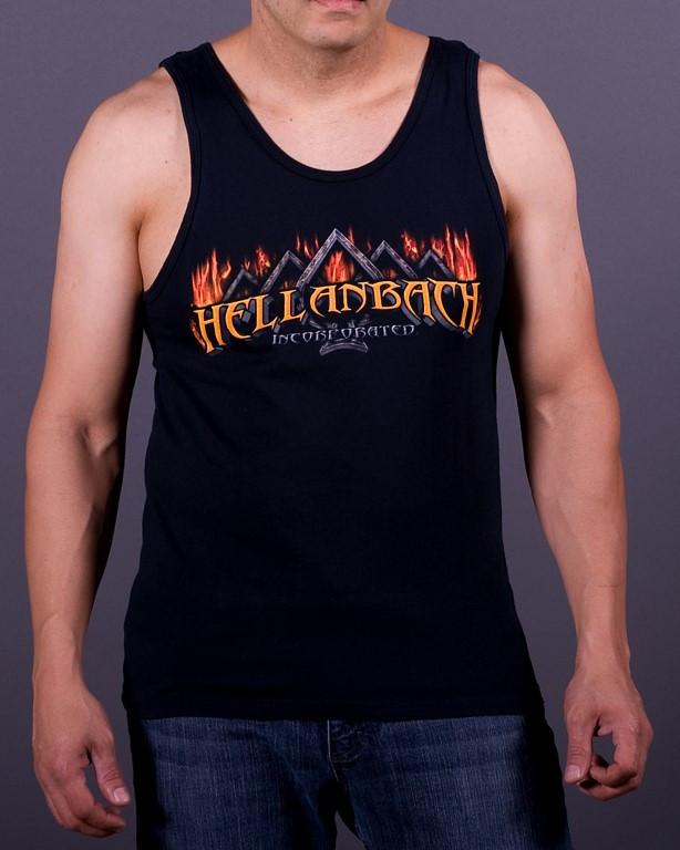Mens Tank - Fire Ace Tank Top