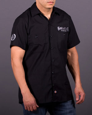 3D Work Shirt - Black/Silver