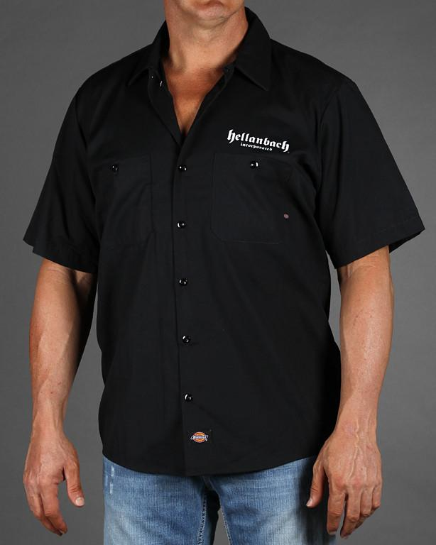 Mens Work Shirt - Built Fast On Dickies Work Shirt