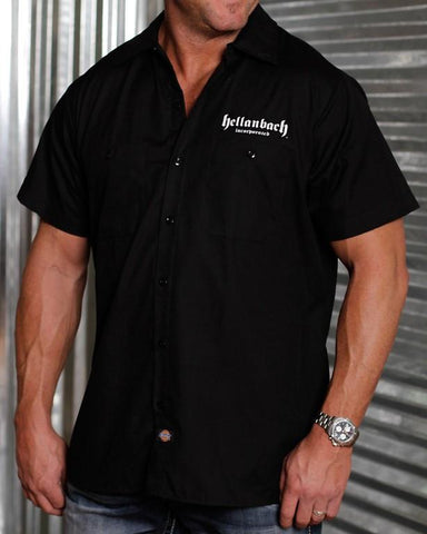 Mens Work Shirt - Live To Ride Dickies Work Shirt