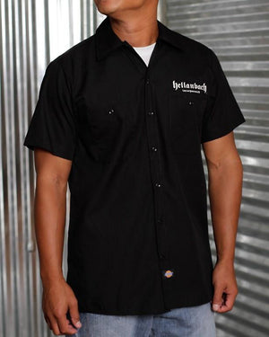 Reaper on Dickies Work Shirt