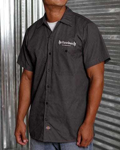 Image of Mens Work Shirt - Who's Your Daddy? Dickies Work Shirt