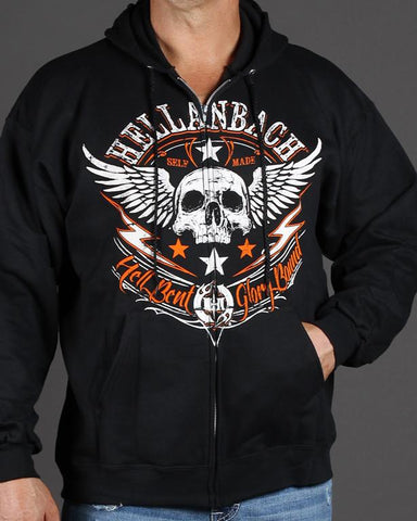 Mens Zip-Up Hoodie - Glory Bound Zip-Up Hoodie