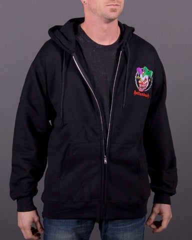 Image of Mens Zip-Up Hoodie - Who's Your Daddy? Full-Zip Up Hoodie