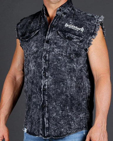 Image of Who's Your Daddy Sleeveless Denim