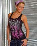 Womens Tank - Queen On Bella Tank Top