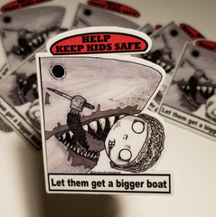 "JAWS - 3""  Horror Safety Kid series 3"