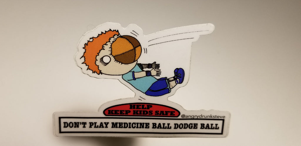 Safety Kid -Medicine Ball/Dodge Ball