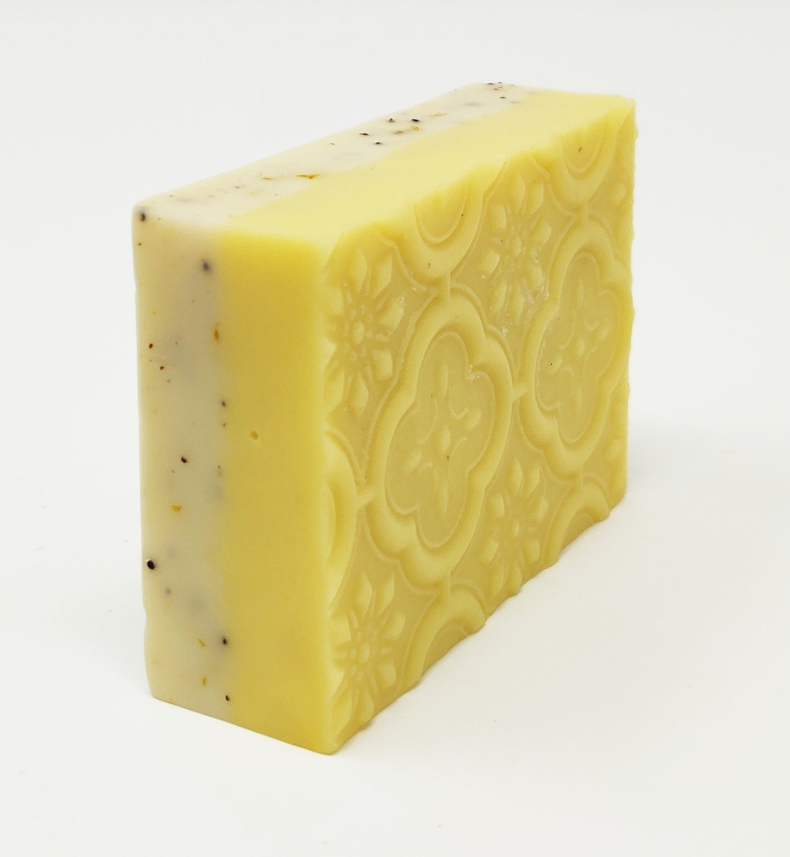 Lemongrass Infused Poppyseed Soap