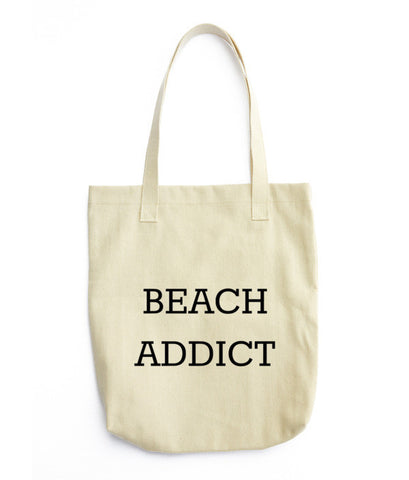 Beach addict Tote bag
