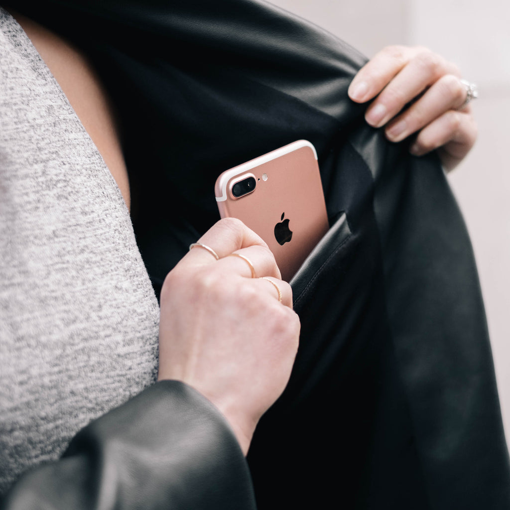 Versatile jacket for everyday, perfectly fits your rose gold iPhone