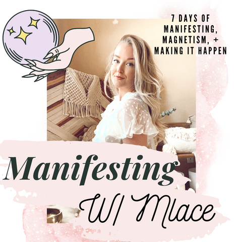 << Manifesting w/ Mlace🌹 >> Manifesting, Magnetism, and Making it Happen✨