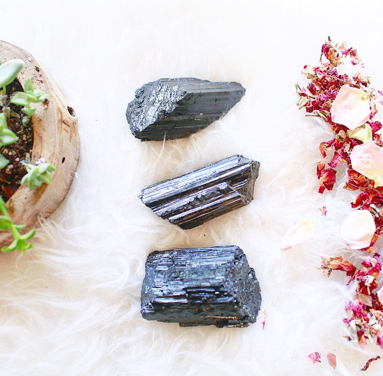 Grounding x No Bad Vibes| XL Black Tourmaline