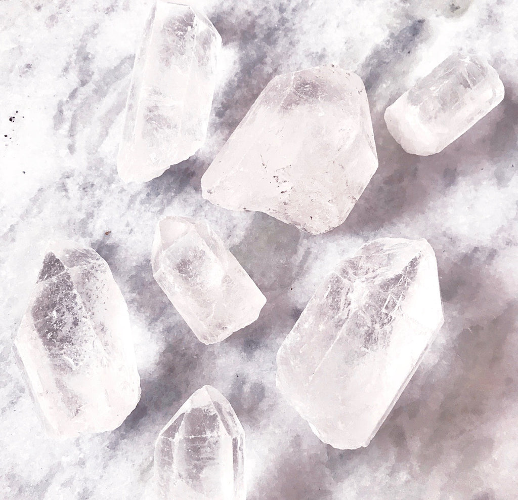 High Vibe x High Manifestation| Raw Clear Quartz Point