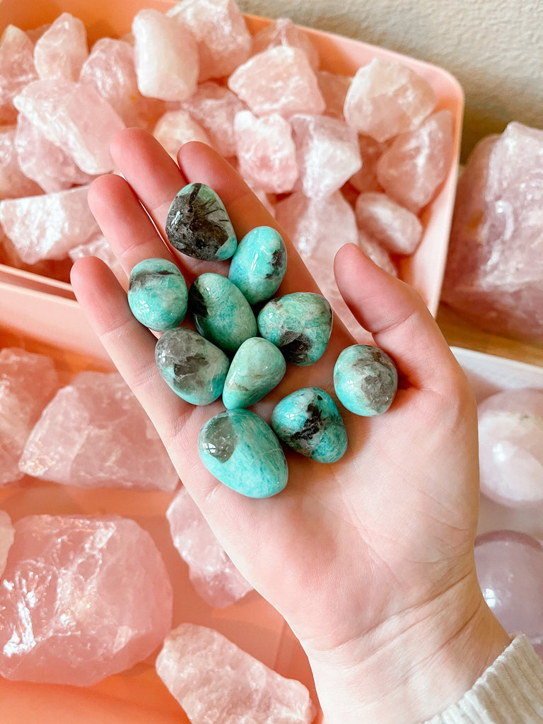 Goddess Energy x Balance  | Tumbled Amazonite