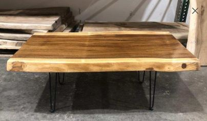 UMBUZÖ Live Edge Wood Coffee Table