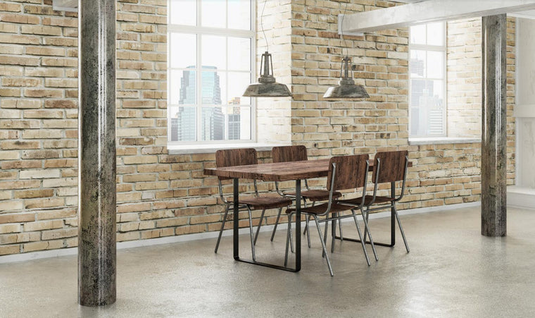 Sale! Vintage Industrial Dining Table