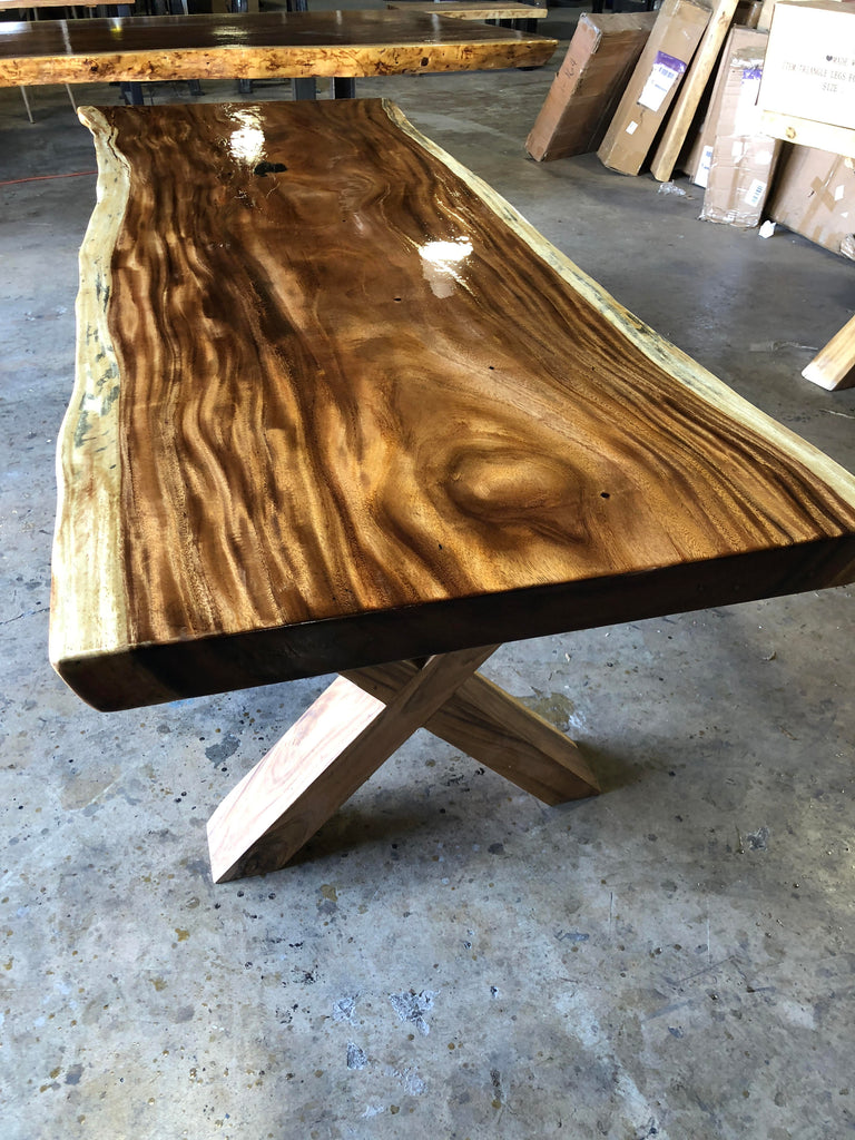UMBUZÖ Live Edge Dining Table - 8ft x 3ft