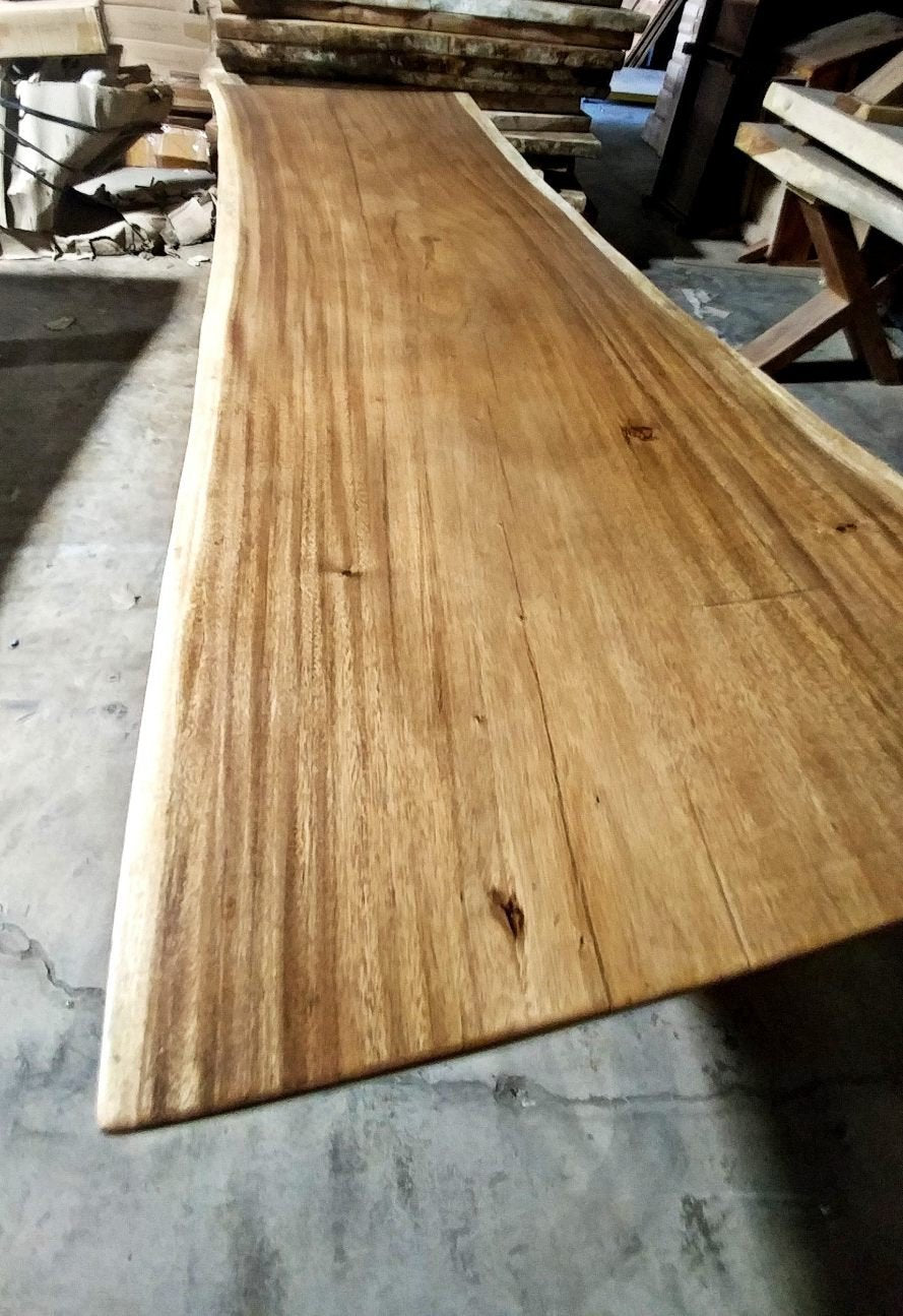 "SALE! UMBUZÖ Live Edge Dining Table - 99"" x 37"""