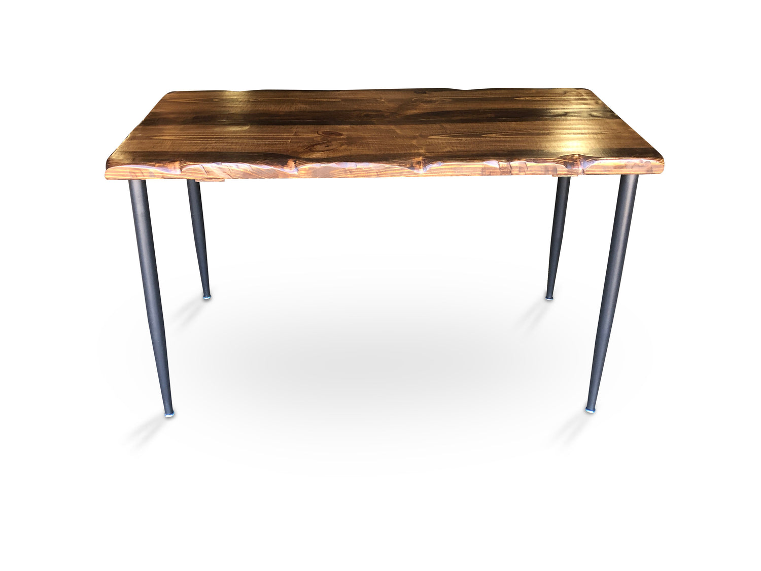 UMBUZÖ Modern Desk - Reclaimed Wood Desk - Live Edge Desk - Walnut Desk