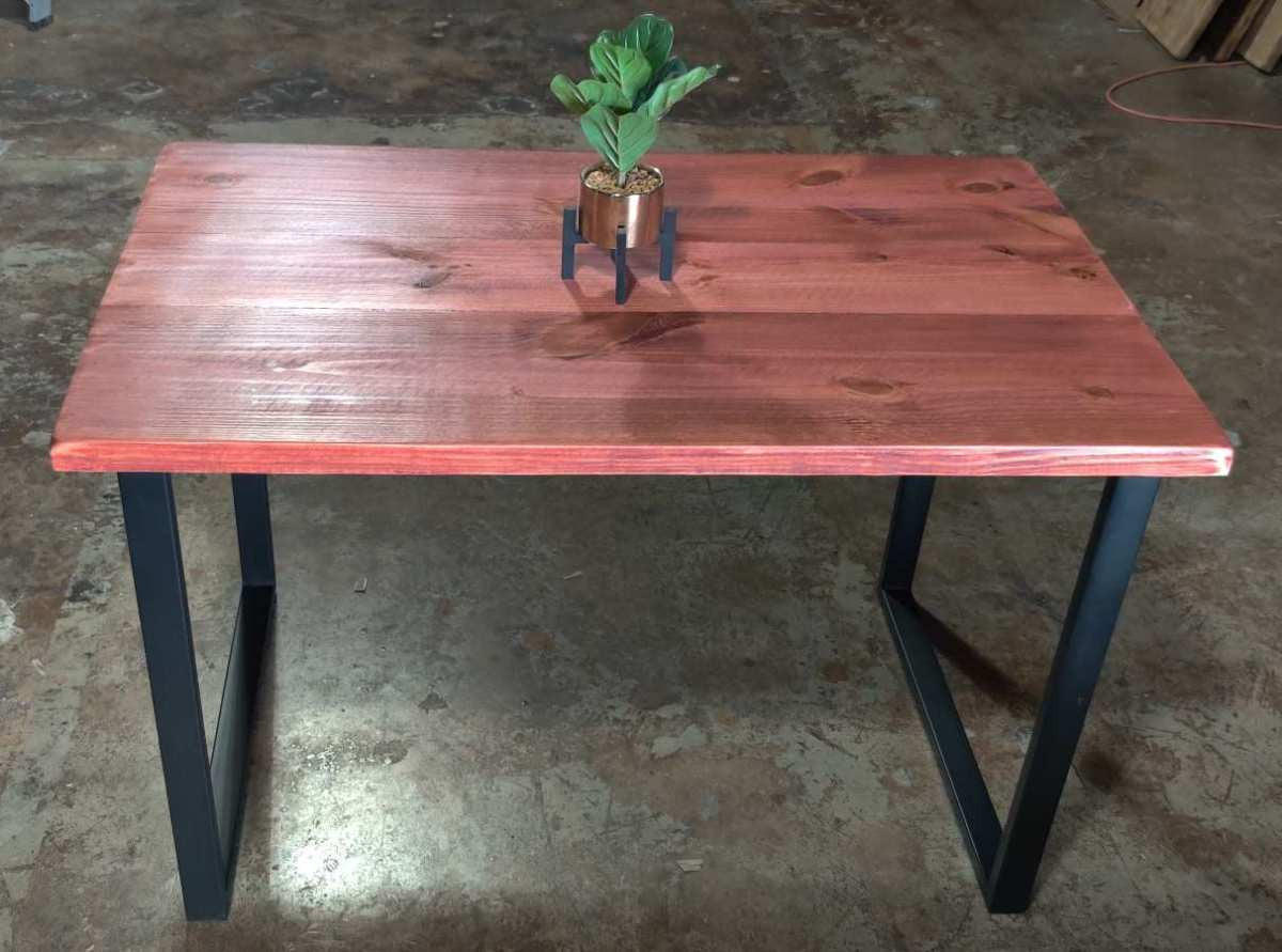 UMBUZÖ SALE!  Reclaimed Wood & Steel Desk or Dining Table
