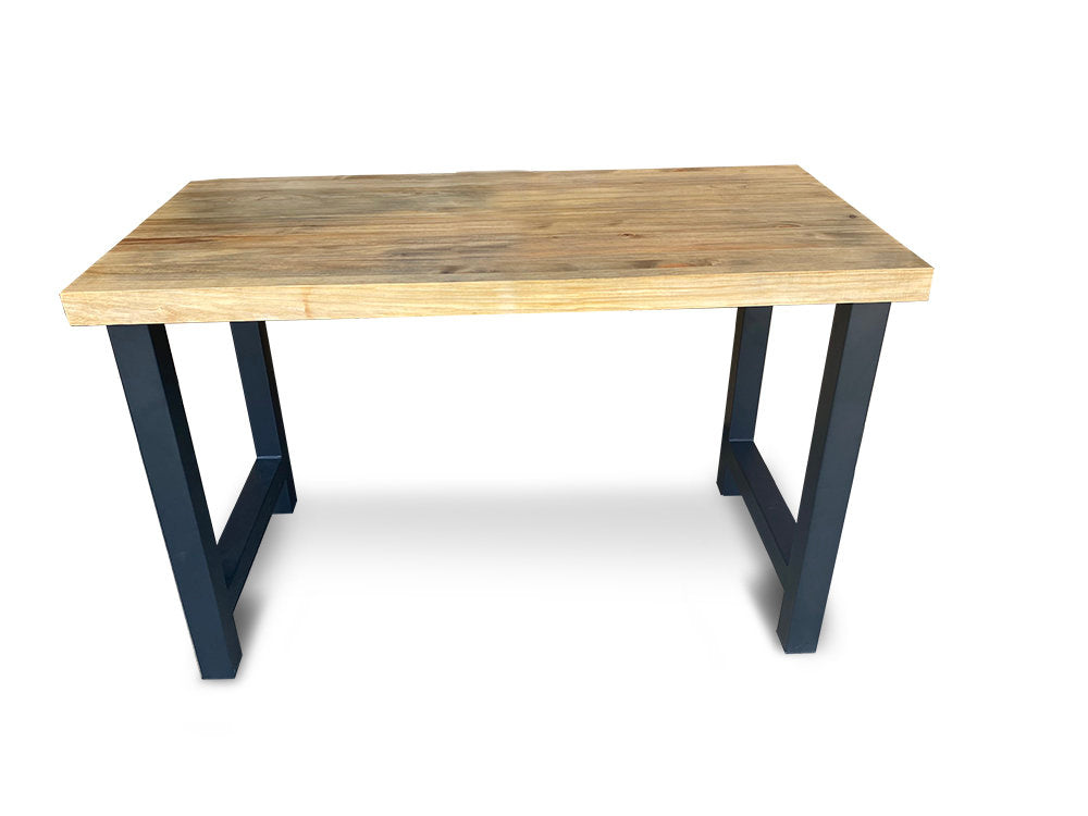 Sale! Distressed Wood Desk - Butcher Block Desk - Modern mid century, industrial, rustic