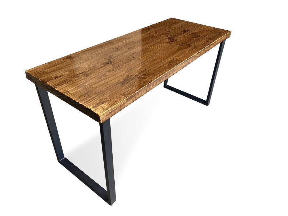SALE! Reclaimed Wood & Steel Desk - Wood Office Desk - Desk
