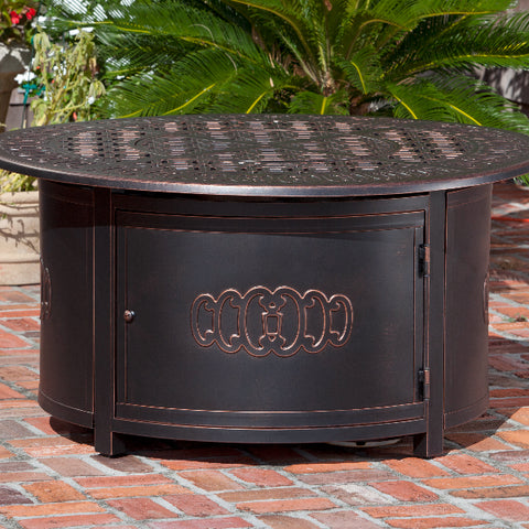 Dynasty Round LPG Fire Pit