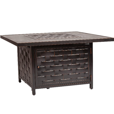 Armstrong Cast Aluminum LPG Fire Pit Table