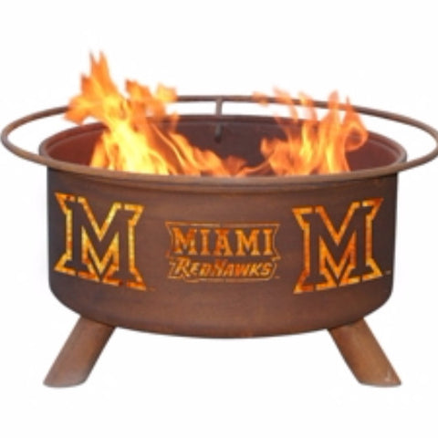 Miami University (Ohio) Fire Pit - The Fire Pitz