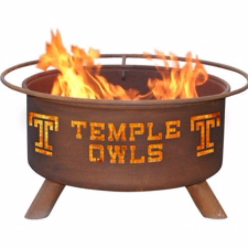Temple University Fire Pit - The Fire Pitz