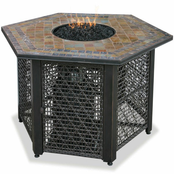 LP Gas Fire Bowl Table - The Fire Pitz