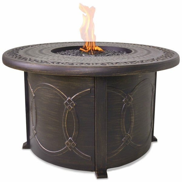 LP Gas Outdoor Fire Pit Table - The Fire Pitz