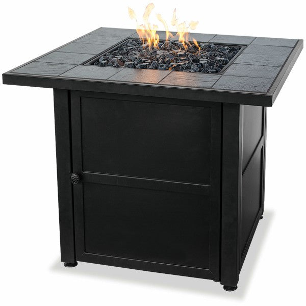 Lp Gas Slate Fire Pit Table The Fire Pitz
