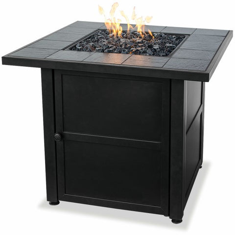 LP Gas Slate Fire Pit Table - The Fire Pitz